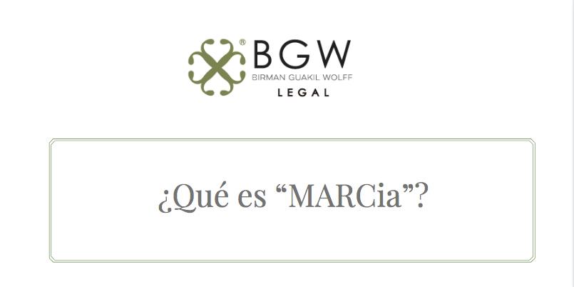 """¿Qué es """"MARCia""""?"""